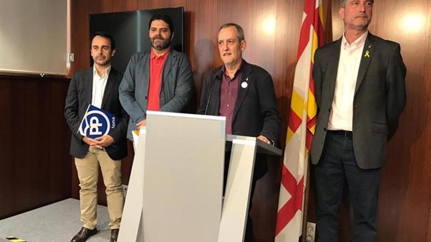 Los grupos de la oposición ERC, JxCat, PP y Ciudadanos