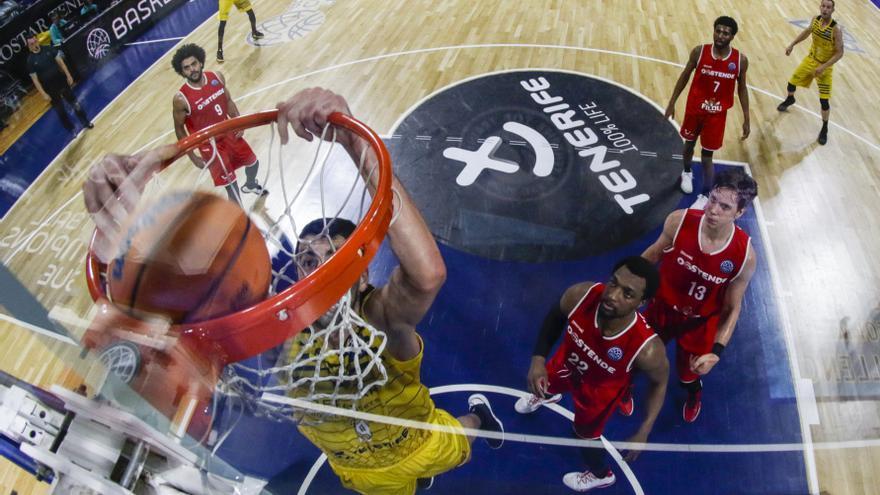El Ostende iguala la eliminatoria con el Canarias 1-1.