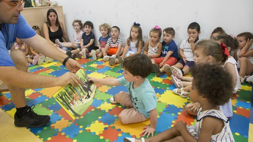 El 'no' de PSOE y PRC impide aprobar una moción para que todas las aulas de 2 años se gestionen por Educación
