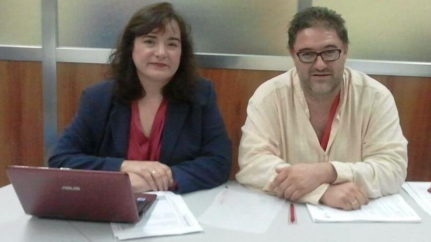 Chelo Cuadra y José Frutos, Comisiones Obreras Castilla-La Mancha