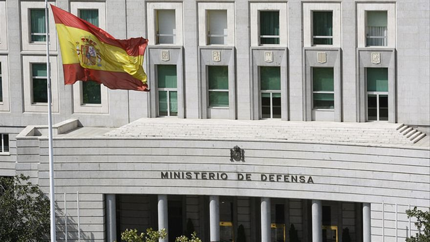 Sede del Ministerio de Defensa en Madrid