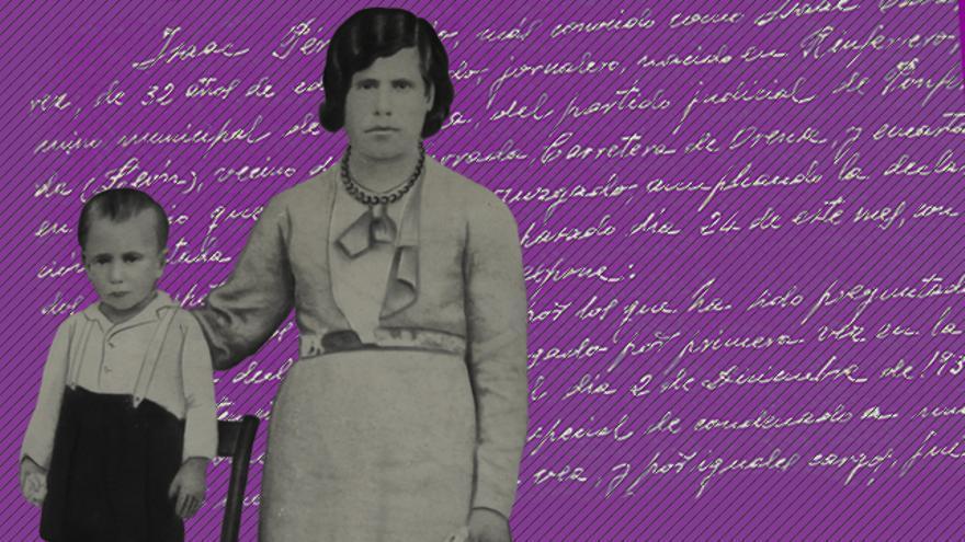 Jerónima Blanco y a su hijo Fernando Cabo fueron asesinados en 1936 en Ponferrada.