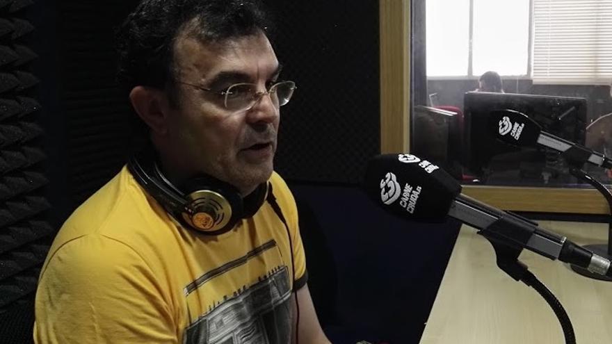 Íñigo Sáenz de Ugarte en Carne Cruda