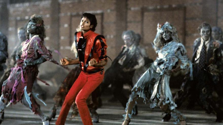 Michael Jackson en su videoclip 'Thriller'
