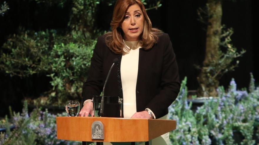 """Susana Díaz garantiza que Andalucía """"ahuyentará la tentación de asimetrías y discriminaciones"""" en España"""