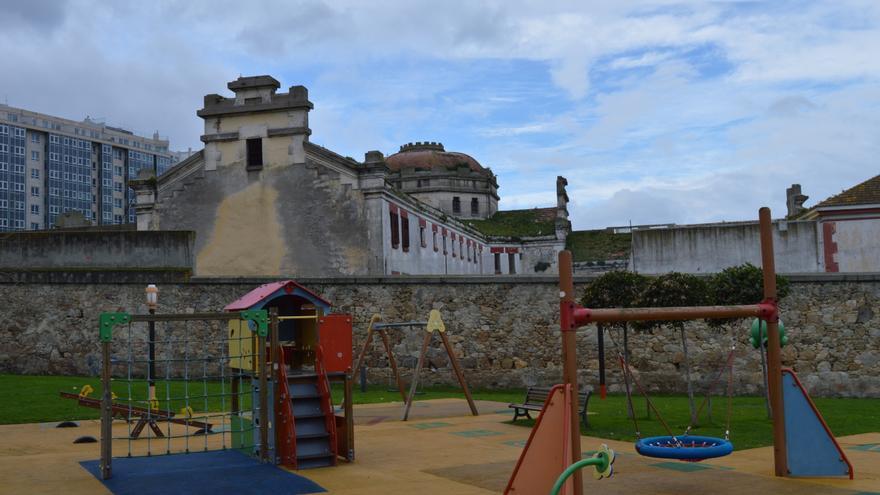 Exterior de la antigua prisión