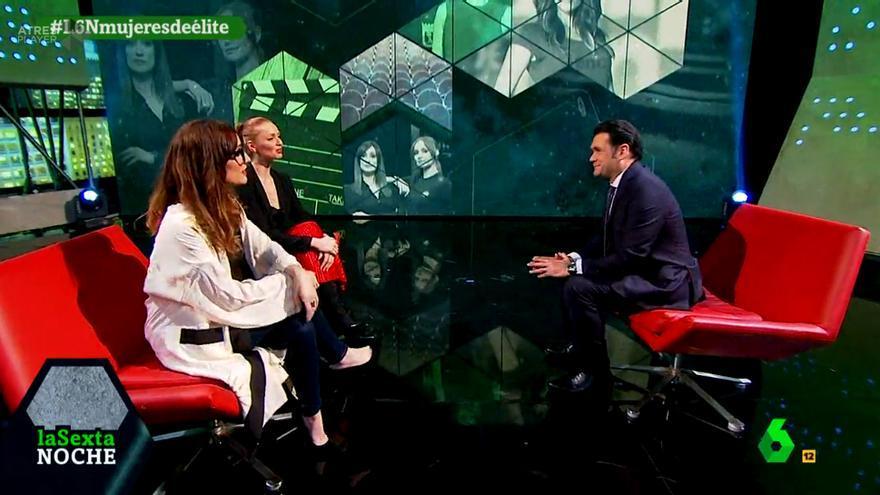 """laSexta Noche recuerda el pasado de dos """"agentes de élite"""" con ellas en plató"""