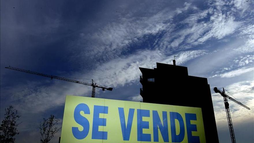 Un bloque de viviendas en venta / Foto: Efe.