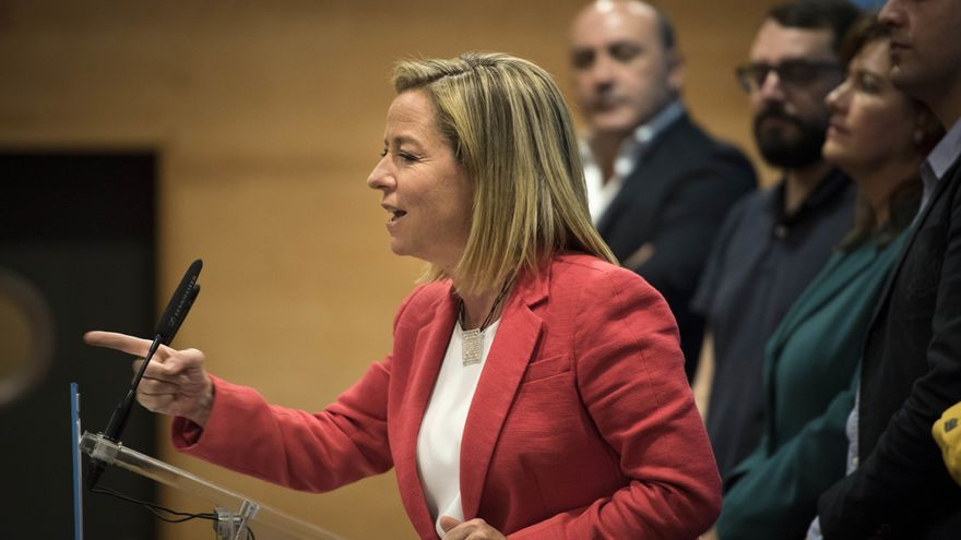 La cabeza de lista de Coalición Canaria (CC) para el Congreso de los Diputados, Ana Oramas,