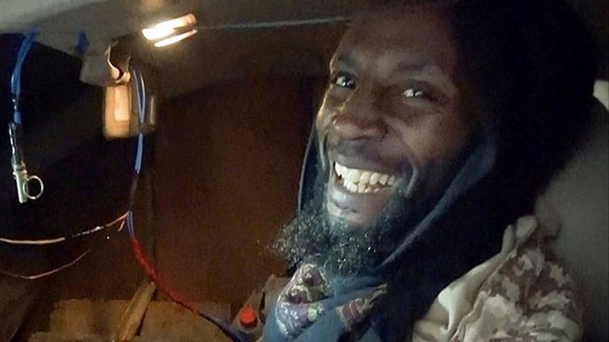 Jamal al Harith, en una imagen difundida por el ISIS