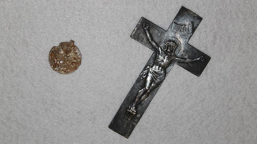 Piezas religiosas en Zalamea. | JUAN MIGUEL BAQUERO