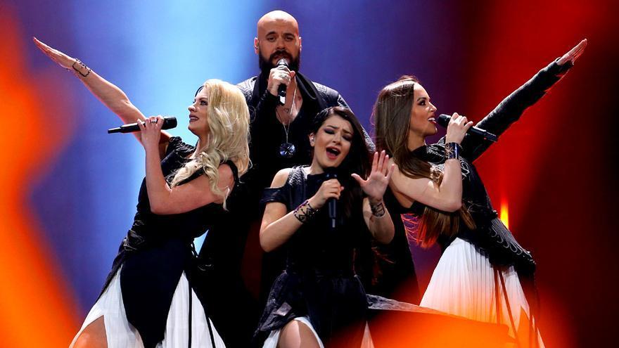Mladen Lukić, representante de Serbia en Eurovisión 2018