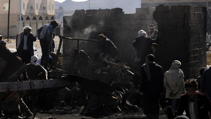 Los rebeldes hutíes apoyan el alto el fuego en el Yemen anunciado por Kerry