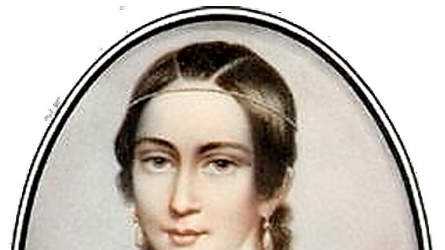 Clara Schumann en 1838