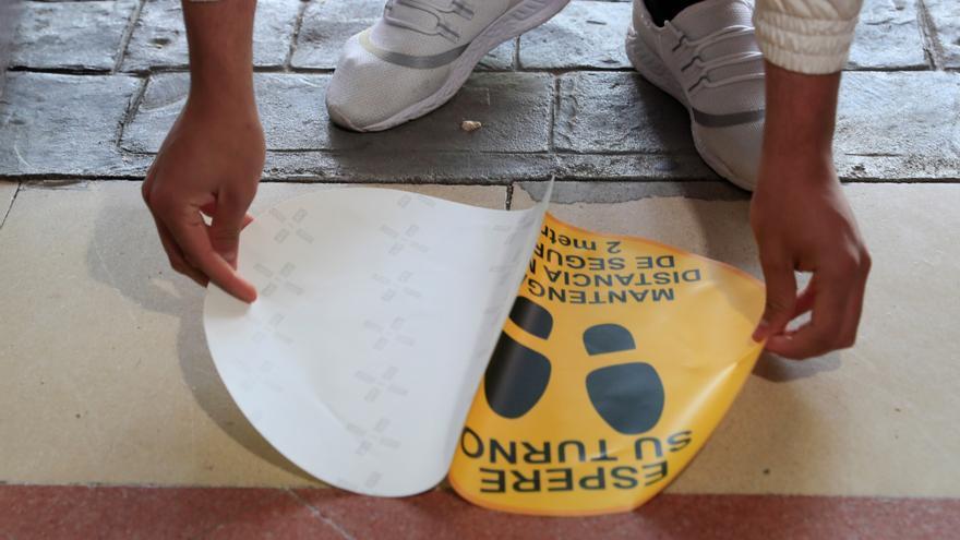 Elecciones en pandemia: así se prepara un colegio en nivel máximo de alerta