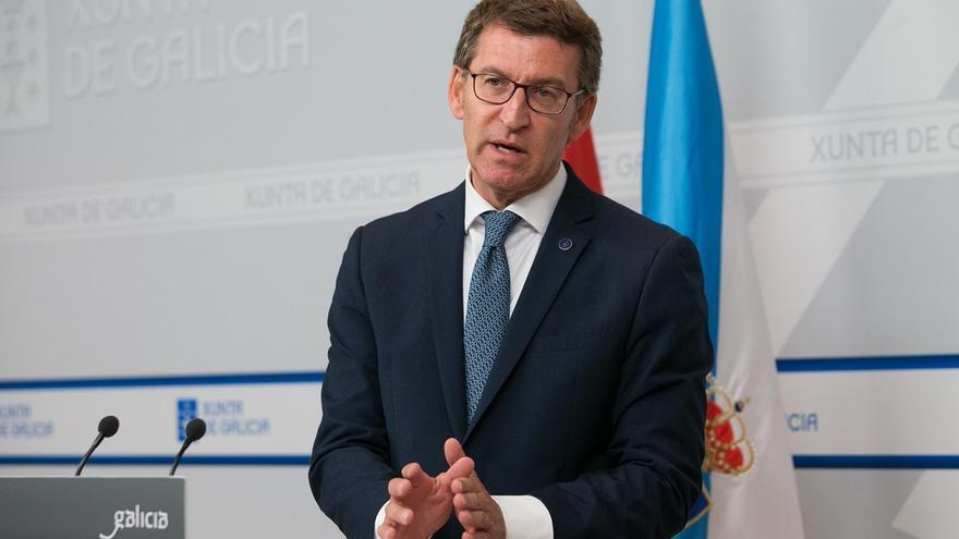 """Feijóo defiende que """"preservará la estabilidad"""" y que el """"calendario que se maneja"""" de las gallegas es octubre"""