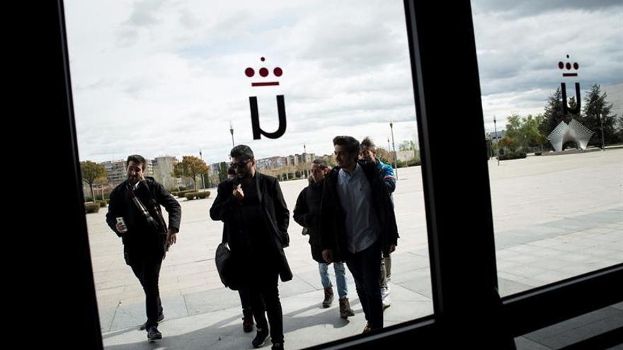 Estudiantes de la URJC en una imagen de archivo
