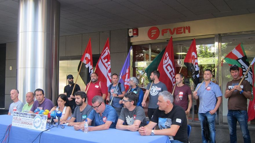 Sindicatos del Metal de Bizkaia convocan nuevas jornadas de huelga desde el 30 de septiembre al 4 de octubre