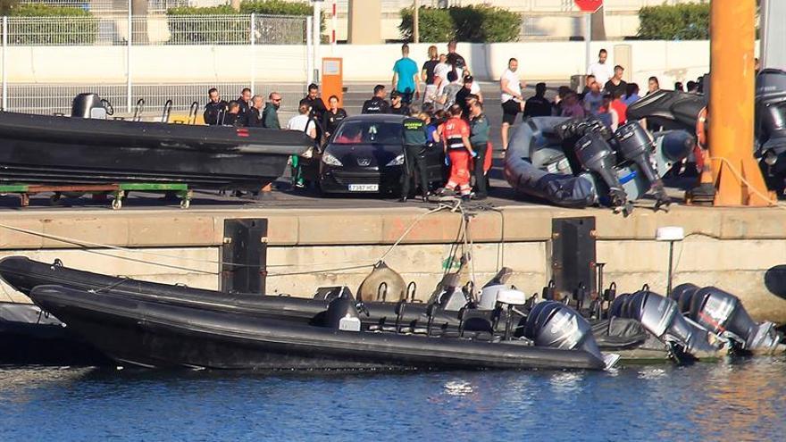 Las narcolanchas siguen siendo el vehículo más común en el Estrecho para el tráfico de drogas.
