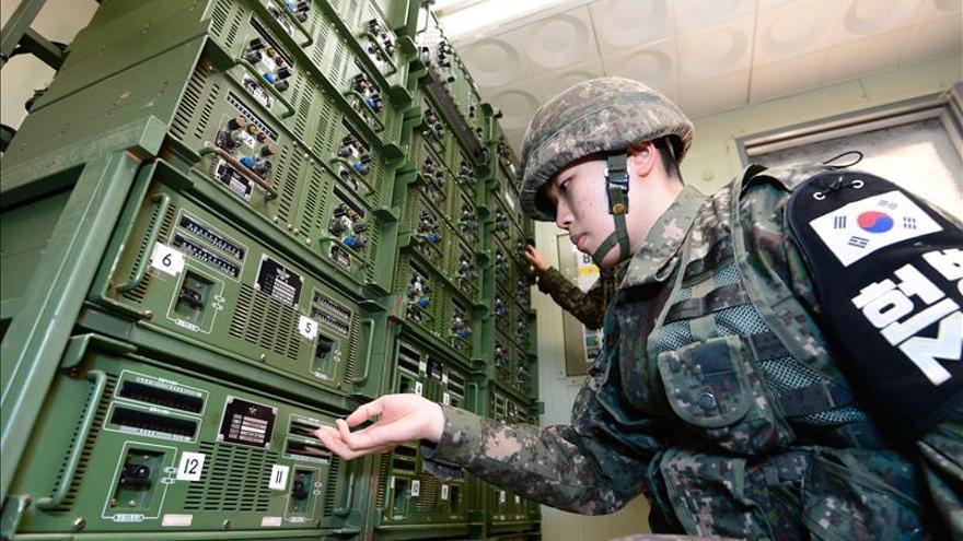 Corea del Sur vuelve a emitir propaganda en la frontera con el Norte