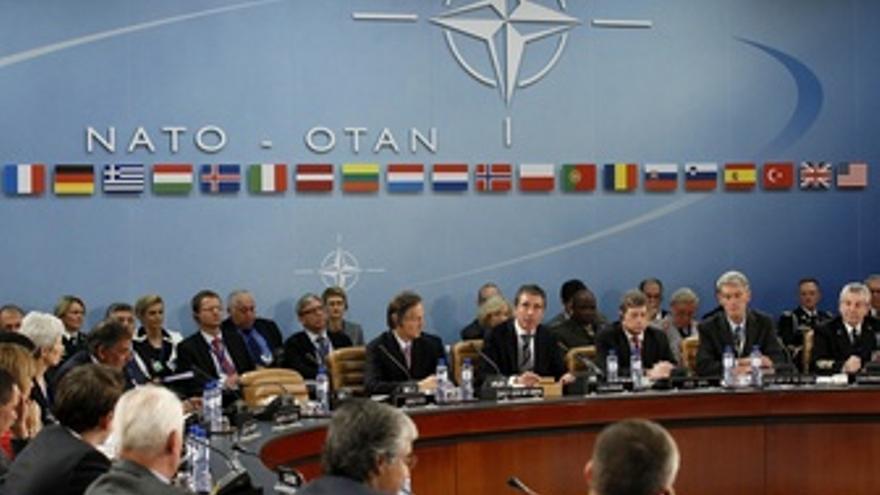 El Secretario General Aliado, Anders Fogh Rasmussen, OTAN