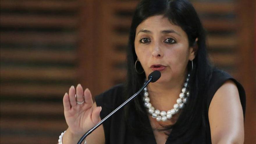 """Canciller venezolana dice que la oposición vive una especie de """"espejismo"""""""