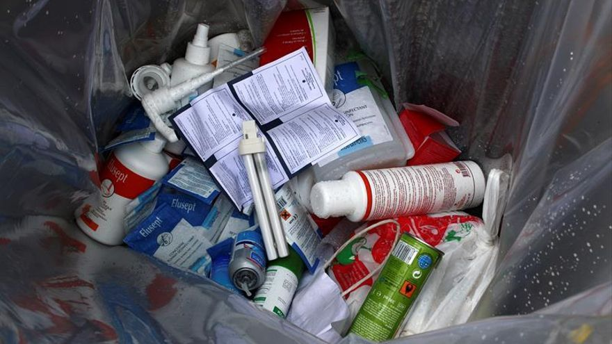 Casi 9 de cada 10 hogares españoles reciclan ya residuos de medicamentos