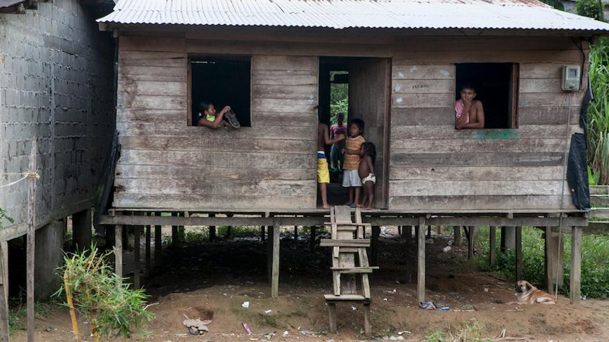 Reserva indígena embera, en Colombia. Foto: Salva Campillo / Ayuda en Acción