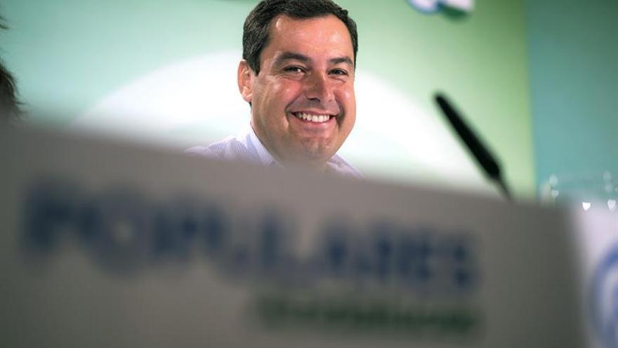 Juanma Moreno cree que Soria no debió solicitar el puesto en el Banco Mundial