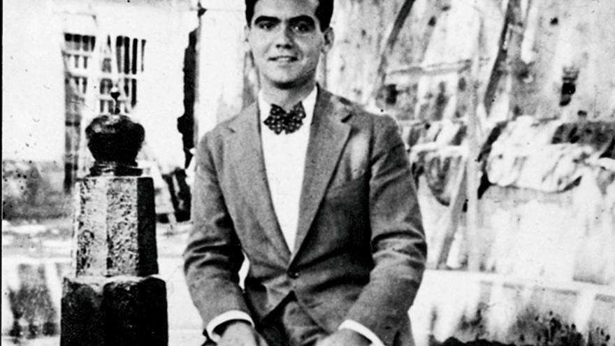 Federico García Lorca en la Residencia de Estudiantes de Madrid