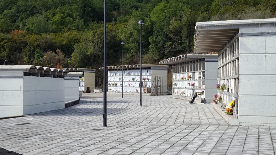 En la imagen, el cementerio de San Urbano tras su reforma.