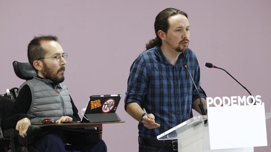 """Podemos rechaza elecciones anticipadas """"por la fuerza"""" en Cataluña como solución al conflicto, pero no las teme"""