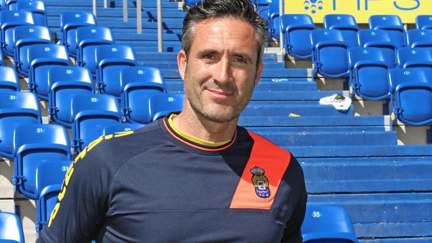 Ernesto García, coordinador y preparador de porteros de la UD Las Palmas
