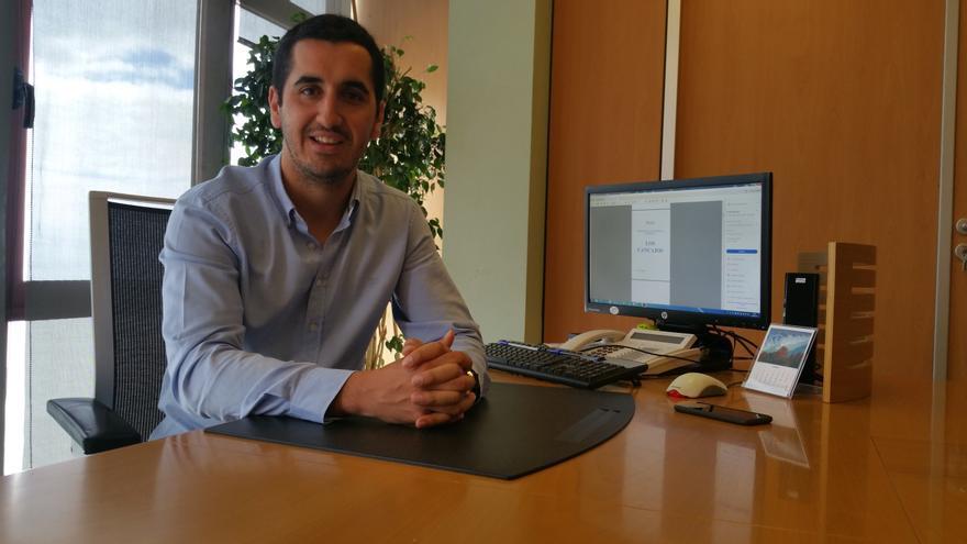 El popular Borja Pérez Sicilia es alcalde de Breña Baja. Foto: LUZ RODRÍGUEZ.