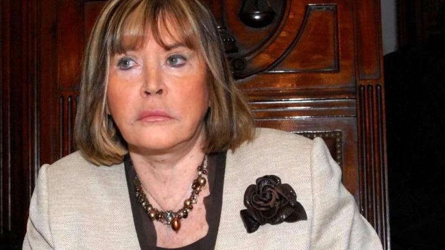 La jueza argentina que investiga los crímenes del franquismo, María Servini de Cubria.