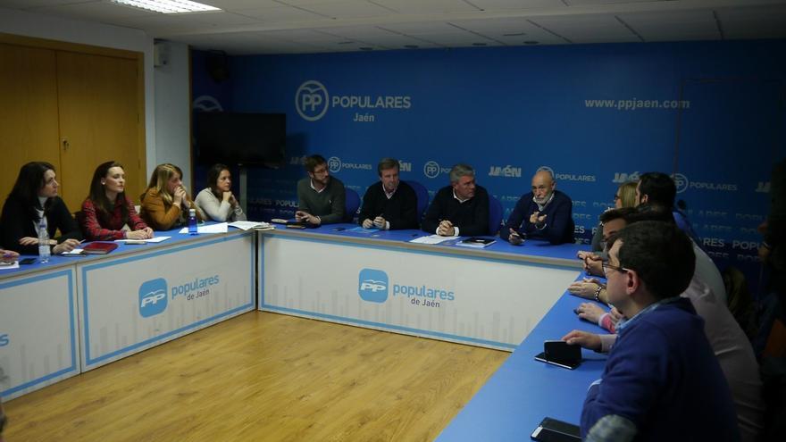 """Fernández de Moya: """"Tengo la autorización de la dirección nacional para concurrir"""" al congreso provincial del PP"""