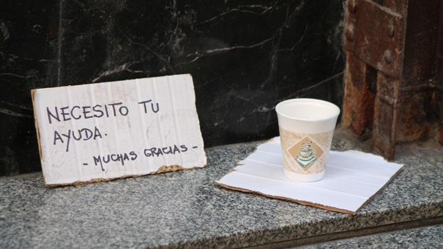 La pobreza ha aumentado en Euskadi.