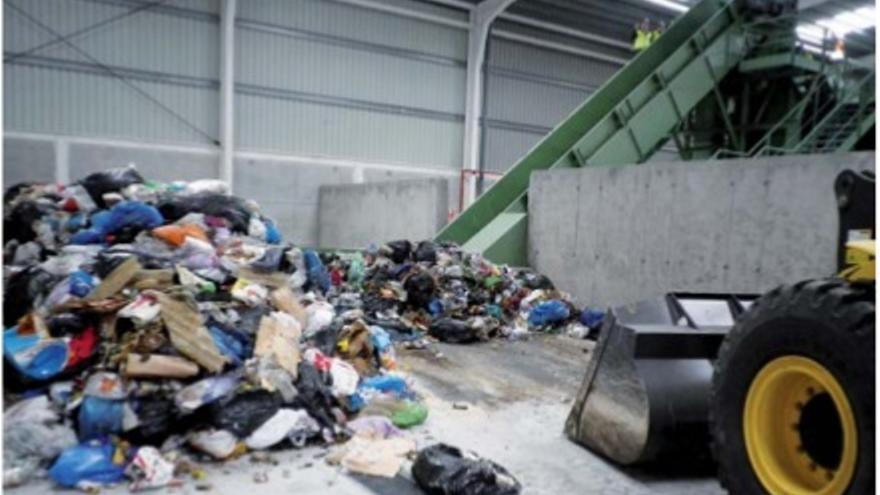 Imagen de archivo del interior del complejo de tratamiento de residuos Los Morenos.