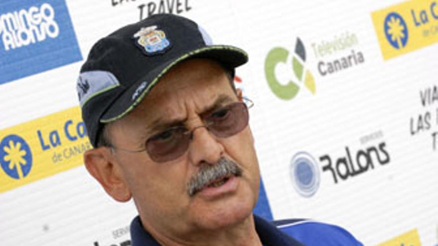 Sergio Kresic, durante una rueda de prensa en Barranco Seco. (ACFI PRESS)