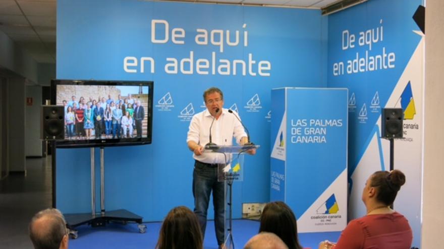 Presentación de la candidatura de Carmelo Afonso a Las Palmas de Gran Canaria