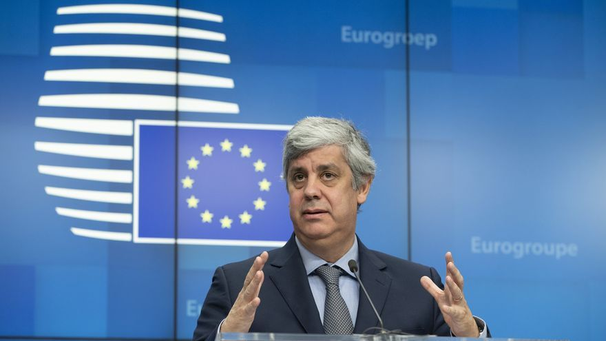 """Centeno, jefe del Eurogrupo: """"La confianza de los ciudadanos depende de nosotros, debemos lograr el acuerdo"""""""