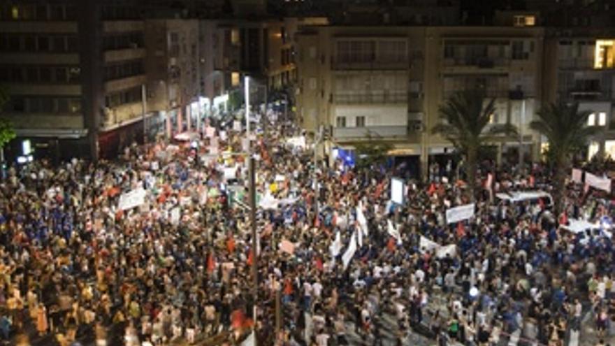 Protesta En Israel Contra El Coste De La Vida