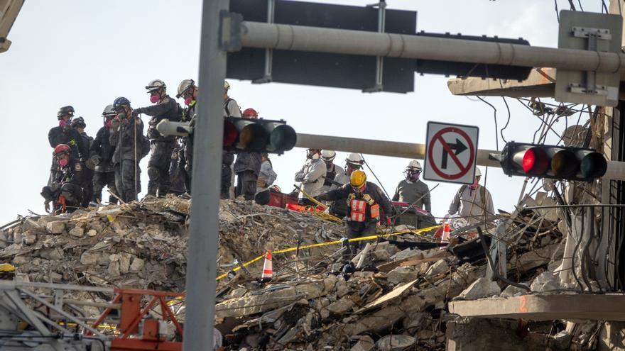 La mayoría de las 9 víctimas mortales del derrumbe de un edificio en Miami tenían origen hispano