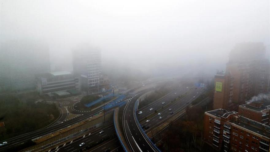 Nochebuena y Navidad, densas nieblas y temperaturas suaves de hasta 19 grados