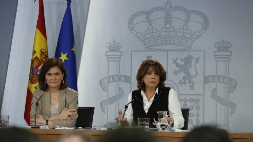 """El Gobierno niega """"gestos"""" a los independentistas en la decisión de la Abogacía del Estado"""