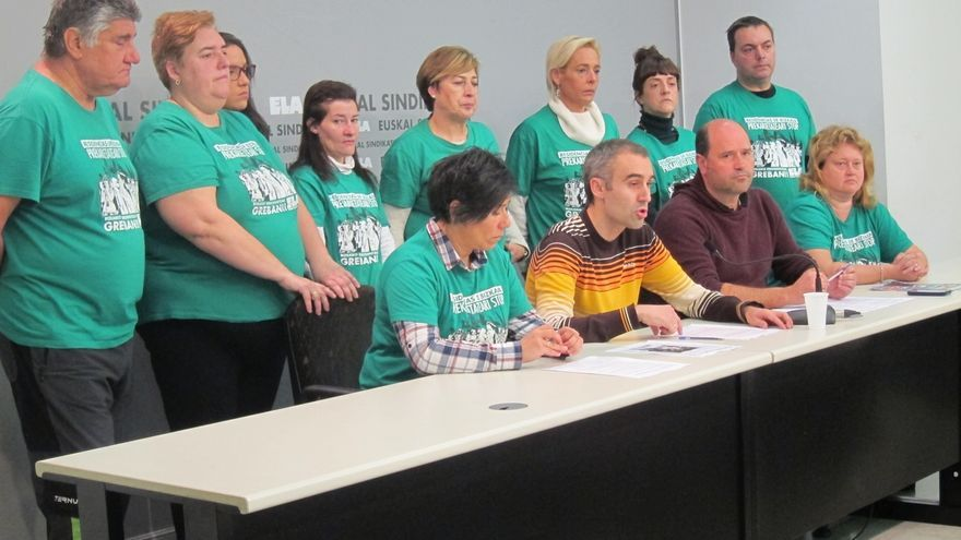 Las trabajadoras de las residencias de Bizkaia seguirán con movilizaciones hasta ver satisfechas sus reivindicaciones