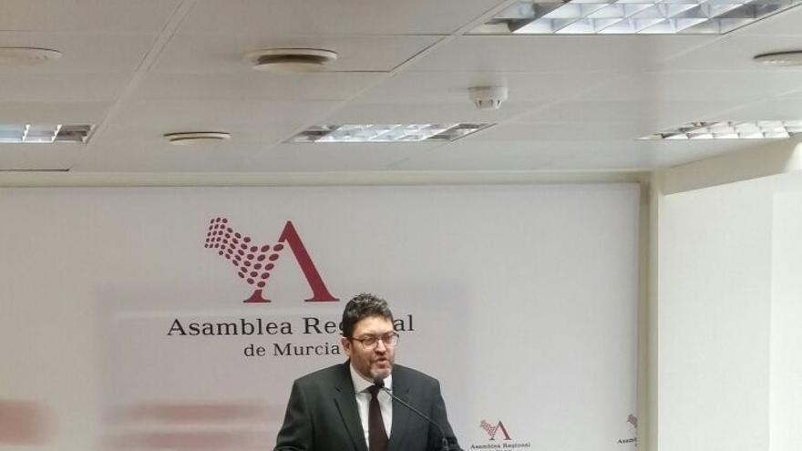 Miguel Sánchez, portavoz de Ciudadanos en la Asamblea Regional de Murcia