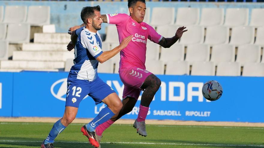 Las Palmas prepara la doble cita casera ante Mirandés y Sporting