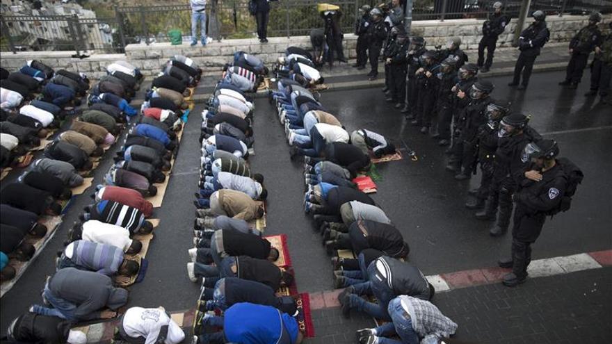 La Policía bloquea el acceso de judíos a la explanada de las mezquitas tras disturbios