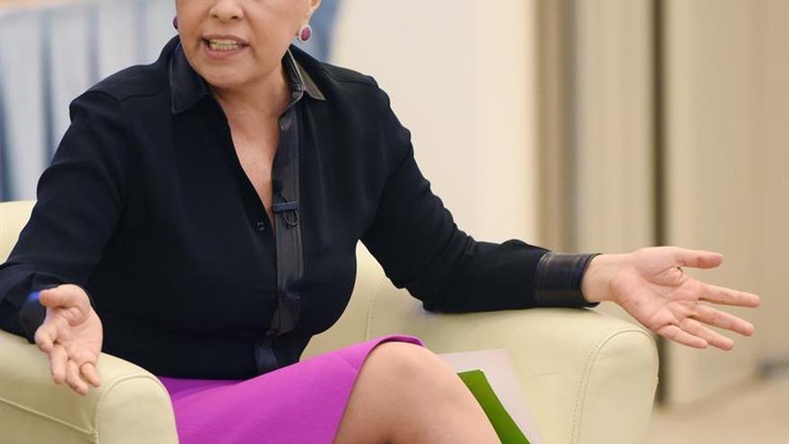 Vanda Pignato niega que gestionó fondos para la campaña del expresidente salvadoreño